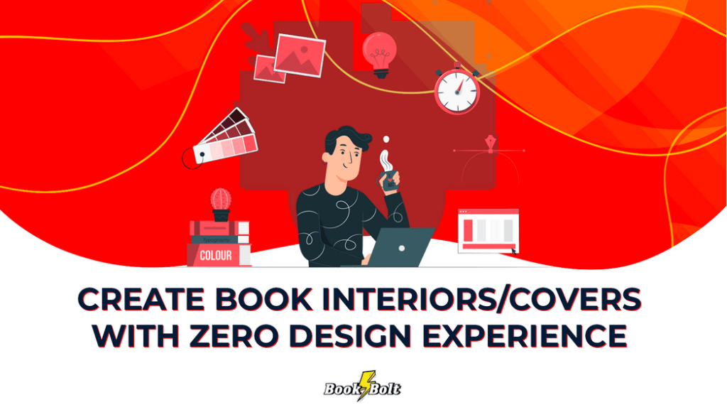 Create book interiors and covers