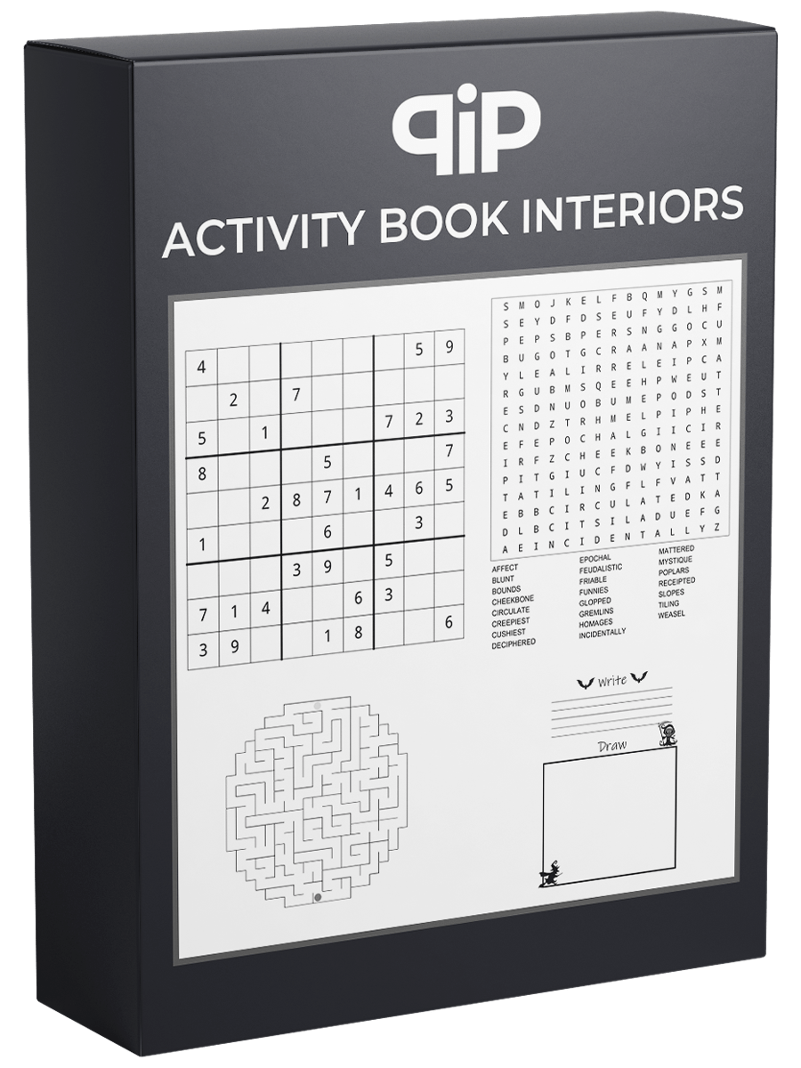 Activity Book Interiors