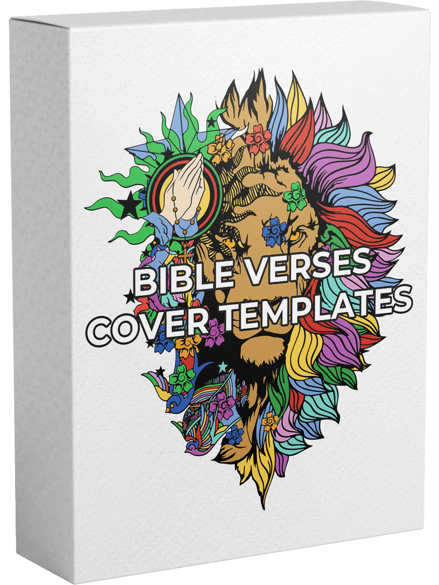 Bible Verses Cover Templates