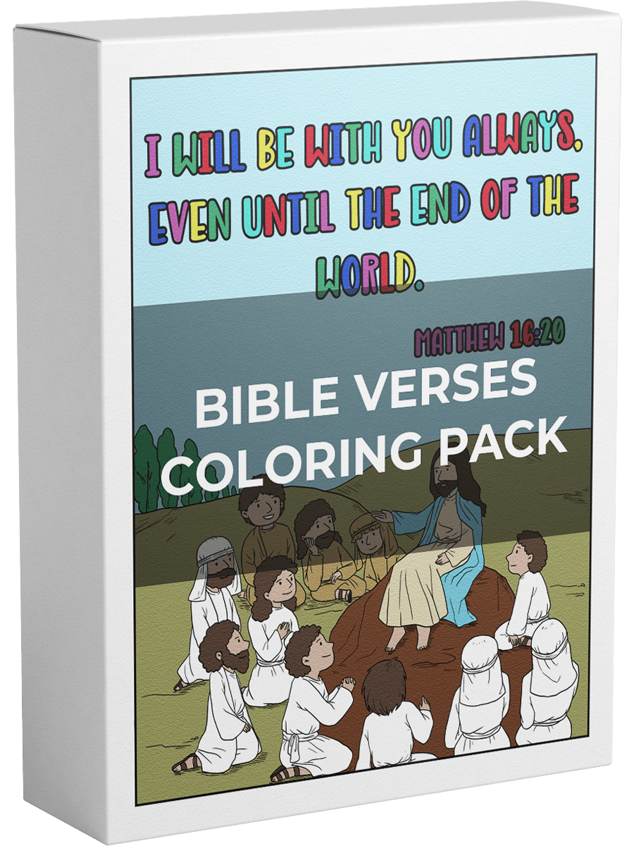 Bible Verses Coloring Pack