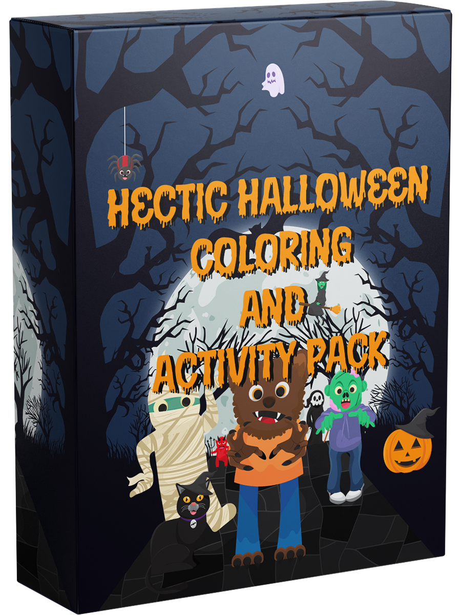 Hectic Halloween Coloring Pack